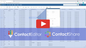 Contact Editor & Share, Contact Management Solution