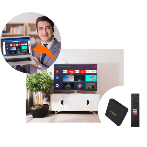 Radix Android TV Manager
