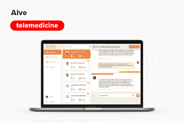 ALVE - modern online solution for psychotherapy