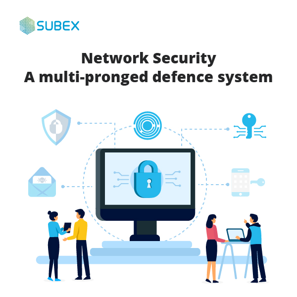 Subex Network Security - Protect your network from intrusions and breaches with a multi-pronged defence system