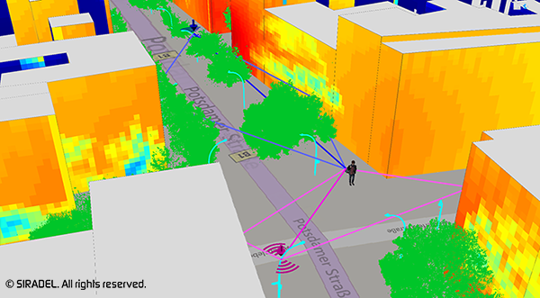 Volcano, Ray-Tracing propagation model for 5G