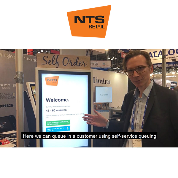 Self-queue in with NTS welcome manager