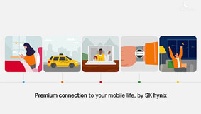 SK hynix enables a smart and mobile daily life.