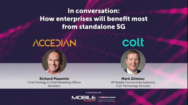 Accedian and Colt: How enterprises will benefit most from standalone 5G