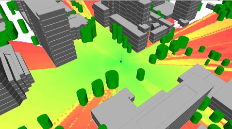 5G 3D Building and Tree Models for RF Planning